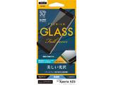 Xperia XZ3 3Dパネル 3S1574XZ3 ブラック