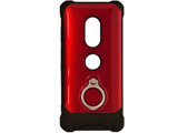 Xperia XZ3 Tough Ring ハイブリッドケース 4598XZ3HB レッド
