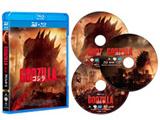 GODZILLA ゴジラ[2014] 3D&2D Blu-ray3枚組 BD