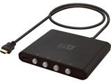 PHM-SW401B (4ポートHDMI切換機/ブラック)
