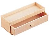 木製 カスター&箸箱 ナチュラル <PHSA2>