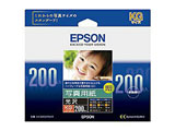【純正】 写真用紙 光沢 (KG判・200枚) KKG200PSKR