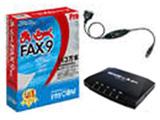 〔Win版〕 まいと〜く FAX 9 Pro モデムパック(USB変換ケーブル付き)