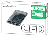 【在庫限り】 CSSD-S6O512NCG2V 内蔵SSD S6ONCG2Vシリーズ [2.5インチ /512GB]