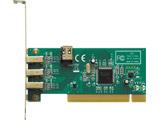 インターフェースボード IEEE1394 6pinx4(TI社製 TSB43AB23搭載、PCI接続)