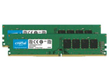 【在庫限り】 CFD Seleciton Standardモデル DDR4-3200 (PC4-25600 CL22) デスクトップ用メモリ 288pin DIMM 16GB 2枚組 W4U3200CM-16G