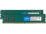 増設用メモリ デスクトップ用   W4U2666CM-8GR [DIMM DDR4 /8GB /2枚]
