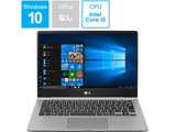 モバイルノートPC LG Gram 13Z980-GR56J ダークシルバー [Win10 Home・Core i5・13.3インチ・SSD 128GB・メモリ 4GB]