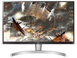 27UL650-W 27型ワイド 4K/VESA DisplayHDR 400対応 液晶モニター [3840×2160/IPS/Display Port・HDMI×2] 液晶パネル・バックライト3年保証)