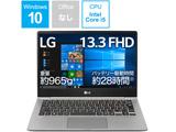 【在庫限り】 ノートPC LG gram 13Z990-GA56J ダークシルバー [Core i5・13.3インチ・SSD 256GB・メモリ 8GB]