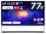 有機ELテレビ  ブラック OLED77ZXPJA [77V型 /8K対応 /BS 8Kチューナー内蔵 /YouTube対応] 【買い替え30000pt】