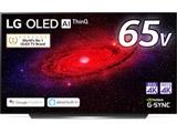 有機ELテレビ  ブラック OLED65CXPJA [65V型 /4K対応 /BS・CS 4Kチューナー内蔵 /YouTube対応] 【買い替え30000pt】