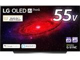 有機ELテレビ  ブラック OLED55CXPJA [55V型 /4K対応 /BS・CS 4Kチューナー内蔵 /YouTube対応] 【買い替え10000pt】