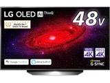 有機ELテレビ  ブラック OLED48CXPJA [48V型 /4K対応 /BS・CS 4Kチューナー内蔵 /YouTube対応] 【買い替え5000pt】