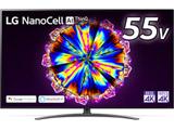 液晶テレビ  ブラック 55NANO91JNA [55V型 /4K対応 /BS・CS 4Kチューナー内蔵 /YouTube対応] 【買い替え5000pt】