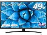 液晶テレビ  ブラック 49UN7400PJA [49V型 /4K対応 /BS・CS 4Kチューナー内蔵 /YouTube対応]