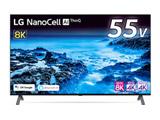 【2021/01/下旬発売予定】 液晶テレビ   55NANO95JNA [55V型 /8K対応 /BS 8Kチューナー内蔵 /YouTube対応]