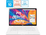 ノートパソコン LG gram T90N(コンバーチブル型)  14T90N-VR51J1 [14.0型 /intel Core i5 /SSD:256GB /メモリ:8GB /2020年7月モデル]