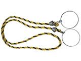 トラスコ中山 カラーコーン用ロープ 標識 12mmX2m TCC30