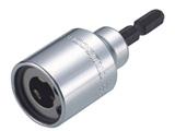電動ドライバーソケット 全ネジ適応 ネジ径W1/2 TEZN12
