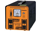 TRUSCO ポータブルトランス 30A 3kVA 降圧・昇圧兼用型 TPT-30BD