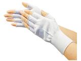 TRUSCO ポリエステルハーフインナー手袋(10双入) TGL-3100HP-10P