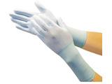 TRUSCO ナイロン手袋PU手のひらコートロング(10双入)S TGL-3131L-10P-S