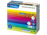 Verbatim DHR47JDP10V1 (DVD-R/4.7GB/DATA/16倍速/10枚/プリンタブル/CPRM対応)