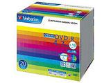 Verbatim DHR47JDP20V1 (DVD-R/4.7GB/DATA/16倍速/20枚/プリンタブル/CPRM対応)
