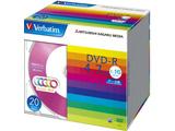 Verbatim DHR47JM20V1 (DVD-R/4.7GB/DATA/16倍速/20枚/カラーミックス)
