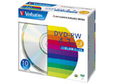 Verbatim DHW47N10V1 (DVD-RW/4.7GB/DATA/2倍速/10枚)