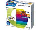 1〜2倍速対応 データ用DVD-RWメディア (4.7GB・10枚) DHW47NM10V1