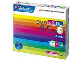 Verbatim DTR85HP5V1 (DVD+R DL/8.5GB/DATA/8倍速/5枚/プリンタブル)