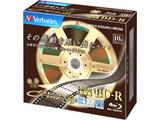VBR130YC10V1 録画用BD-R(4倍速対応/25GB/10枚/キネアールデザイン)
