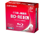 VBE260NP10D1(BD-RE DL/50GB/録画用/1-2倍速/10枚/プリンタブル)