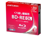 VBE260NP5D1(BD-RE DL/50GB/録画用/1-2倍速/5枚/プリンタブル)