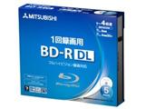 VBR260YP5D1(BD-R DL/50GB/録画用/1-4倍速/5枚/プリンタブル)