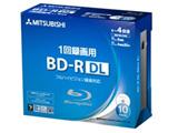 VBR260YP10D1(BD-R DL/50GB/録画用/1-4倍速/10枚/プリンタブル)