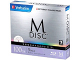 【M-DISC】 DBR100YMDP5V1 データ用BD-R XL(100GB/5枚/5mmスリムケース/インクジェットプリンタ対応)