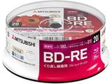 録画用BD-RE 1-2倍速 25GB 20枚【スピンドル / インクジェットプリンタ対応】 VBE130NP20SD1-B