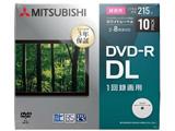 録画用DVD-R DL 2-8倍速 8.5GB 10枚【スリムケース / インクジェットプリンタ対応】 VHR21HP10D1-B 【ビックカメラグループオリジナル】