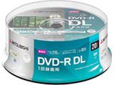 録画用DVD-R DL 2-8倍速 8.5GB 20枚【スピンドル / インクジェットプリンタ対応】 VHR21HP20SD1-B 【ビックカメラグループオリジナル】