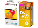 録画用 DVD-RW 1-2倍速 4.7GB 10枚【インクジェットプリンタ対応】 VHW12NP10D1-B 【ビックカメラグループオリジナル】