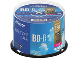 録画用BD-R スピンドル 1-6倍速 25GB 50枚 VBR130RP50SJ1 [〜50枚]