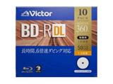 録画用BD-R DL 10枚パック 1-6倍速  50GB【インクジェットプリンタ対応】 VBR260RP10J1