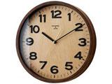 電波掛け時計 「ダリル(DARYL)」 CL-7973NA (ナチュラル) 【正規品】