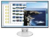 FlexScan EV2451-RWT(ホワイト) 23.8型LEDバックライト搭載液晶モニター [1920×1080/IPS/DisplayPort・HDMI・DVI-D/非光沢]