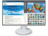 【12/16発売予定】 FlexScan EV2785-SFWT(ホワイト) 27.0型4K対応液晶モニター Surface対応モデル [3840×2160/USB Type-C・DisplayPort・HDMI×2]