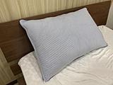 【冷感枕カバー】冷感&ニットワッフル枕カバー CS049 (43×63cm/ブルー)  ブルー 958008BL