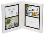 メモリーズ木製フォトフレーム 【L(サービスサイズ)×4】(4ウィンドー・ホワイト) EF-02833